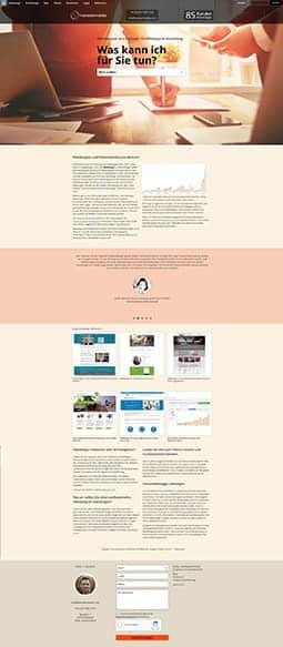 webdesign landingpages